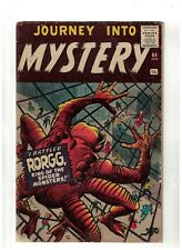 Atlas Marvel comics Journey into mystery 64  Rorgg pre thor VG 4.0