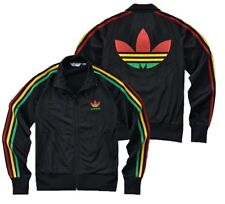 NEW Adidas Originals Women Firebird Rasta Colorful Jamaica Bob Marley Jacket !!!