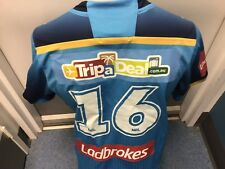 Team Signed Gold Coast Titans Seagulls Titans Giants Game Worn Players Jersey