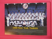 NEW YORK YANKEES 1999 Daily News TEAM PHOTO POSTER Derek Jeter Mariano Rivera