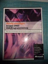 Richtig einsteigen: Access 2007 VBA-Programmierung: Von de... | Buch | gebraucht