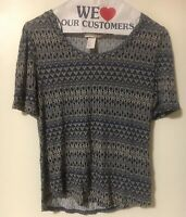 H&M Ladies Blouse Size Small Made In Bangladesh