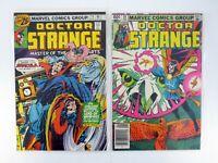 DOCTOR STRANGE #14, 59 Marvel Comics Lot of 2 Dracula NM-NM+ 1976-1983