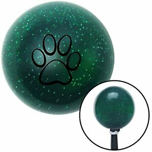 American Shifter 79962 Green Metal Flake Shift Knob with M16 x 1.5 Insert (Black