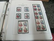 18983 2001 HOLIDAY CONTEMPORARY ISSUES BOOKLET MISC STAMPS