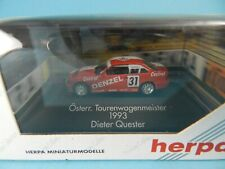 HERPA PRIVATE COLLECTION BMW 3er ÖSTERR. TOURENWAGENMEISTER 1:87