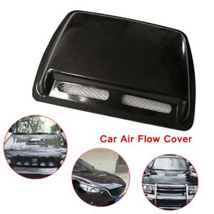 1×Universal Large Car Engine Hood Air Flow Inlet Vent  Front Grille Decor Cover