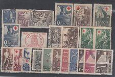 FRANCOBOLLI 1930/43 FINLANDIA/FILAND LOTTO VALORI Z/6727