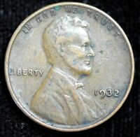 1932 P Lincoln Wheat Cent, Penny, Extremely Fine Condition, Free Shipping, C4351