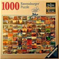 "1000 Pcs ""99 Beautiful Places"" Ravensburger Puzzle BRAND NEW Top Quality German"