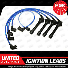 NGK Ignition Lead Set for Daihatsu Applause Charade Feroza F300 F310 4Cyl