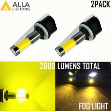 Alla Lighting LED 880 Driving Fog Light Bulb 3000K Bight Golden Yellow Easy Fit