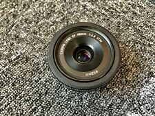Canon EF 40mm F/2.8 STM EF Pancake Macro Lens + Close Up 205 + ND 103 B+W filter
