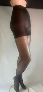 6 Prs Longline Body Shaper Pantyhose Slightly Imperfect-4 sizes-Skintones, Black