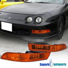 1994-1997 Acura Integra Bumper Lights Parking Signal Lamp JDM Amber