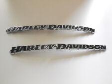 Harley Davidson tankembleme Réservoir Emblèmes des panneaux Chrome 14100953 14100954