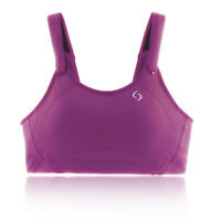 9cfc9de492 Moving Comfort Womens Jubralee Sports Support Bra Top Purple Gym Breathable