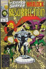 SILVER SURFER/ WARLOCK RESURRECTION  #1 1993 -STARLIN-c/a/ LAUGHLIN...NM-