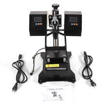 New listing Us Updated Rosin Heat Press Machine Dual Heating Elements Swing-Arm Manual New