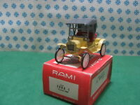 Vintage Rami n°8  -  FORD  model T torpedo 1908  - 1/43  France