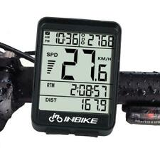 Wire Wireless Cycling Bike Computer Bicycle Waterproof LED Speedometer Odomete