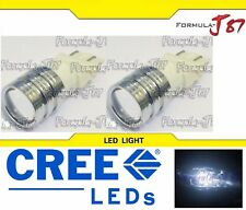 LED Light 5W 3157 White 5000K Two Bulbs Turn Signal Parking Brake Tail Stop