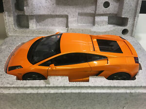 LAMBORGHINI GALLARDO AUTOART 12092 1/12 SCALE METALLIC ORANGE