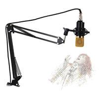 NB-35 Adjustable Studio Microphone Boom Scissor Arm Desktop Stand Holder EW