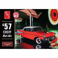 """Amt Amt988 Scala 1 25 """" 1957 Chevy bel Air Coupe Modellata in (k9x)"""