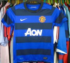 MANCHESTER UNITED 2011-2012 AWAY NIKE FOOTBALL SHIRT JERSEY TOP BOYS 10-12 YEARS