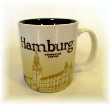 STARBUCKS HAMBURG GERMANY MUG COLLECTOR SERIES 16 OZ NEW