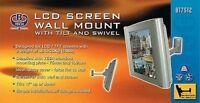 B-TECH BT7512 SILVER VESA 75/100 TV DISPLAY SCREEN WALL BRACKET MOUNT WITH ARM