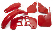 UFO 5 Piece Motocross Plastic Kit HONDA CR 125 1989 CR 250 1988-1989 OEM RED