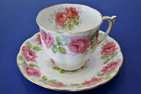 Lady Alexander Rose Fine bone china - Cup and Saucer - Made in England