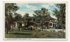 Denver Co Country Club Beautiful 1920'S Postcard Pc4868