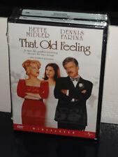 That Old Feeling (DVD) Carl Reiner, Bette Midler, Dennis Farina, BRAND NEW!