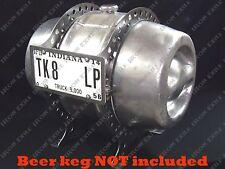 Beer Keg Gas Tank Fuel Mount Mounting Brackets Hot Rat Rod Gasser 15.5 Gallon
