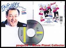 """COLUCHE """"Enfoirés Excusez-Nous"""" (CD) 1997"""