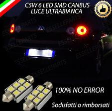 COPPIA LUCI TARGA  LED GOLF 5 V CANBUS 100% NO AVARIA CON RESISTENZE INTEGRATE