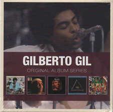 GILBERTO GIL - Original Album Series 5 CD Set 013 WEA  Brazil Marley Bob