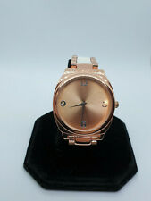 ladies lbvyr rose gold tone bracelet watch,gold face,silver hands new other.#b4.