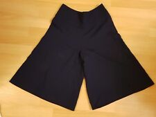 VALENTINO navy blue wide leg culottes crop pants size Italy 40 US 4 UK  8