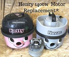 Numatic Henry Hetty James Vacuum Cleaner 1400w Motor Replacment Service (240v)
