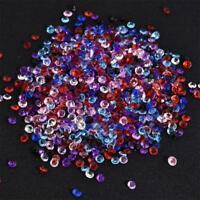 1000 Diamant Strang Acryl Crystal Perlen Home Party Decor 6 Farben
