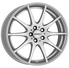 """17"""" DEZENT TI SILVER ALLOY WHEELS ONLY NEW 5x114.3 RIMS"""
