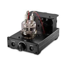 Nobsound HiFi FU32 Vacuum Tube Headphone Amplifier Stereo Audio Hybrid Amp Black