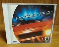 Roadsters Racing  ~ Sega Dreamcast Good Working Condition Tested Complete