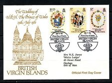 II First Day Cover British Virgin Islands Stamps