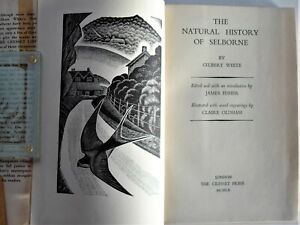 The Natural History of Selborne Gilbert White Claire Oldham Cresset 1960