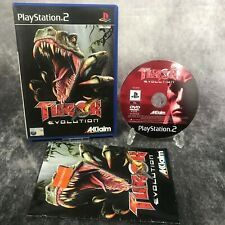 Turok Evolution PS2 PlayStation 2 PAL Game Complete Dinosaur Action Shooter